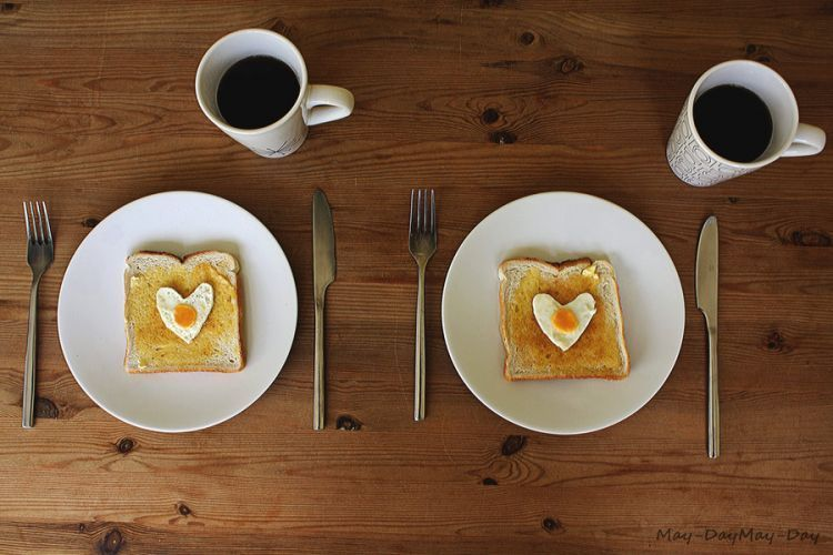 Sarapan pagi cuma pakai roti