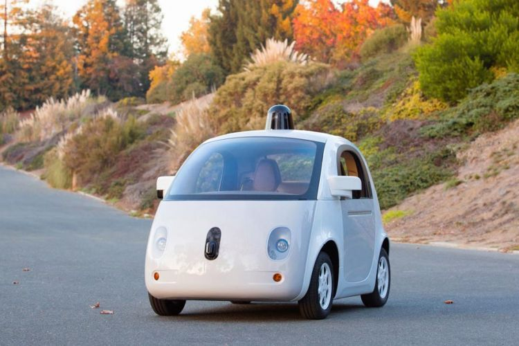 Purwarupa mobil otonom Google