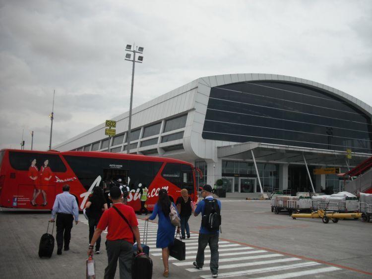 Dari Jakarta menuju Kalimantan baru ke Berau