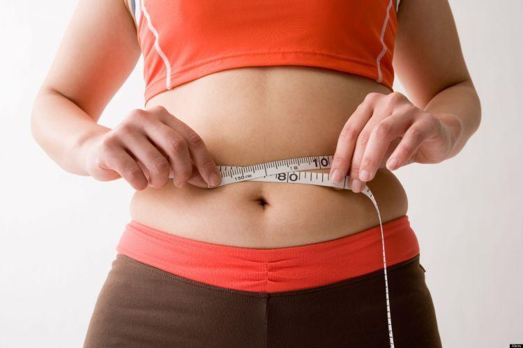 Lemak banyak banget menumpuk di perut dan pinggangmu