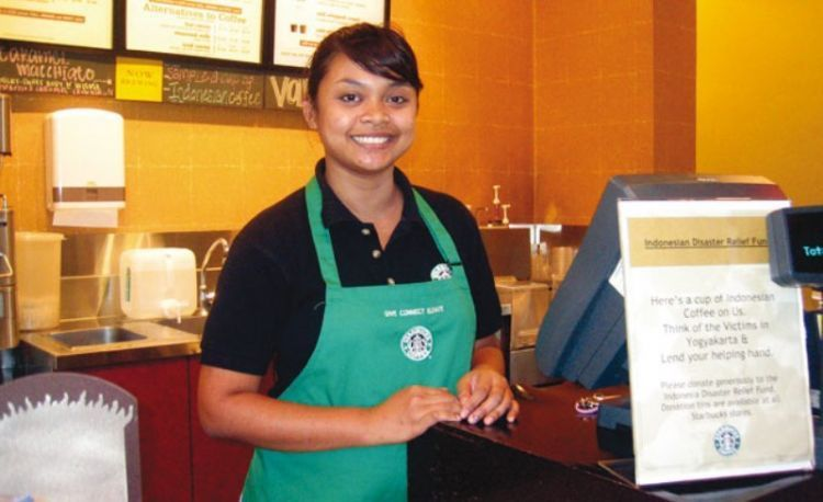 barista atau waitress