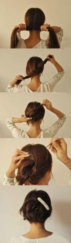 gunakan jepit rambut