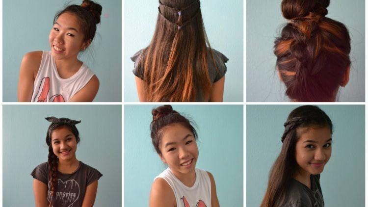 8 Ide Gaya Rambut Yang Bisa Kamu Coba Saat Sedang Malas Mematut Diri Di Depan Kaca