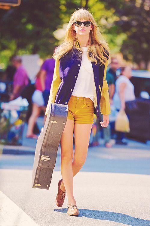 Taylor Swift. Varsity Jacket.