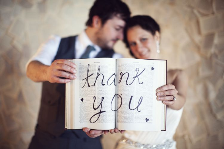 Ucapkan terima kasih pada pasanganmu