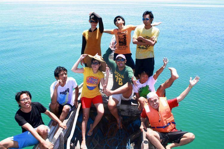Ikutan open trip