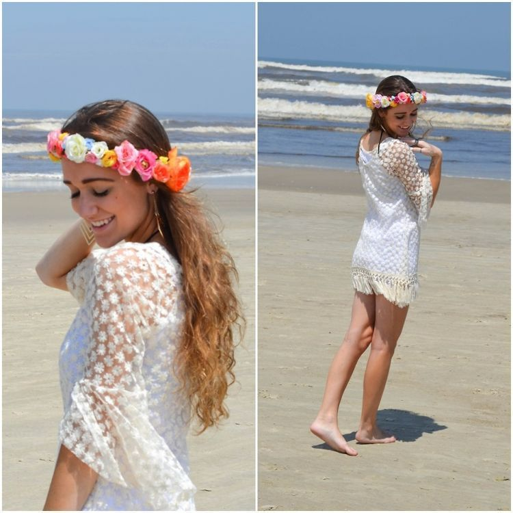 Bohemian dress, cocok untuk foto buku tahunan tema pantai