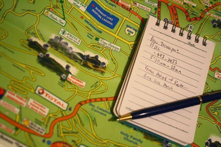 Buat itinerary