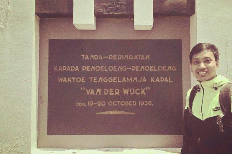 Monumen tenggelamnya kapan Van Der Wijk