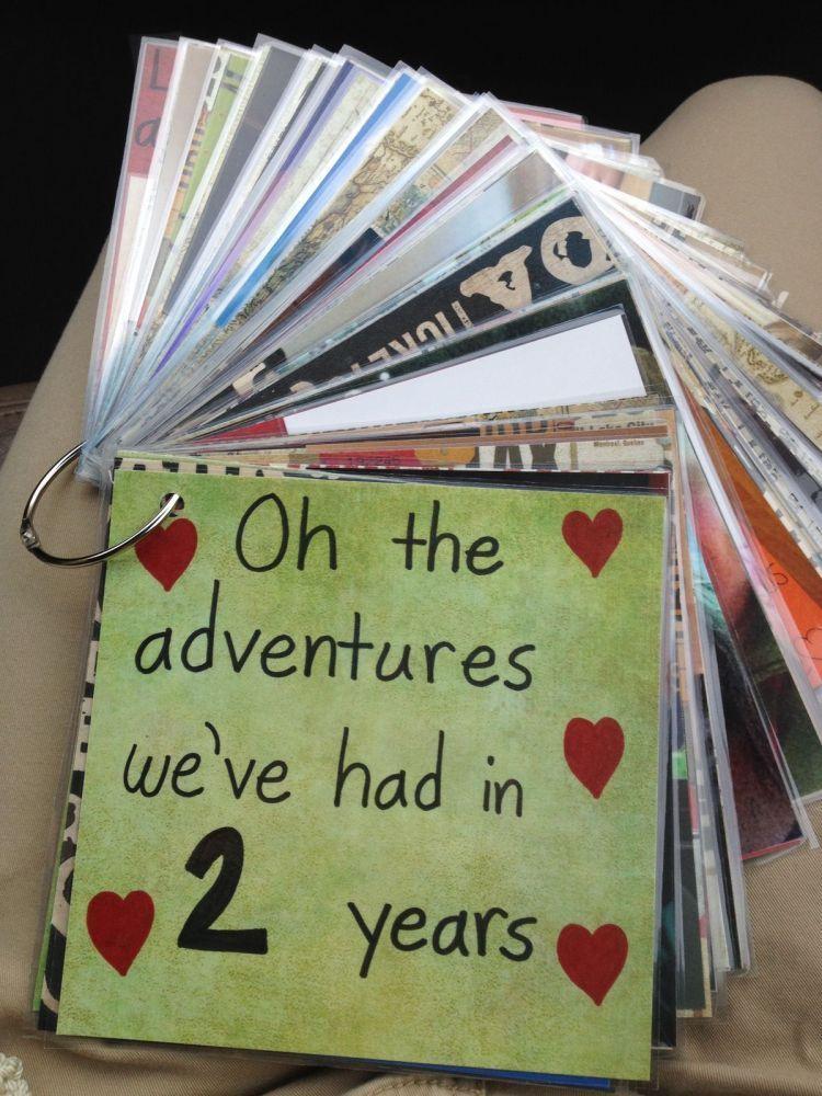 Kumpulkan kenangan dalam flashcards yang unik
