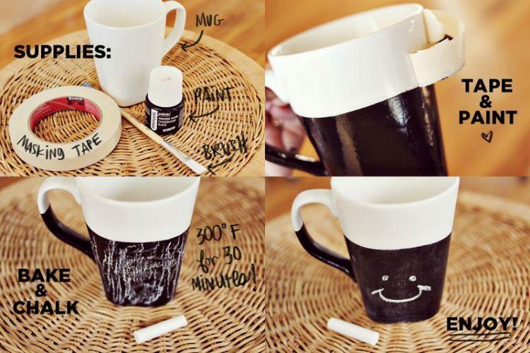 mug lucu yang bisa dicorat-coret
