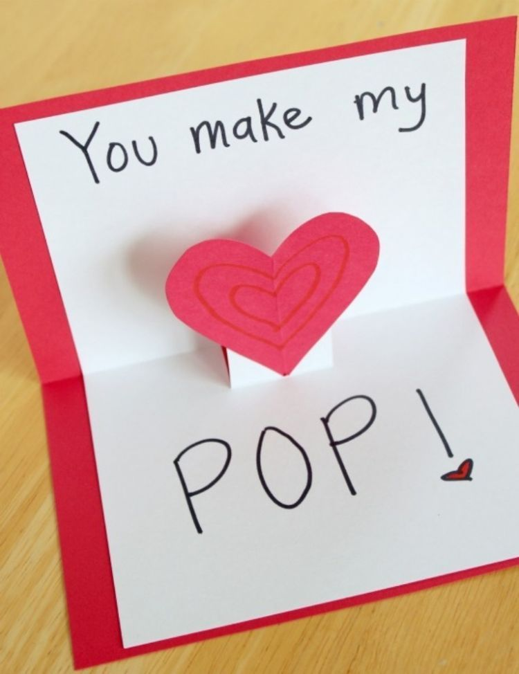 Kartu ucapan berbentuk pop-up: lucu, unik!