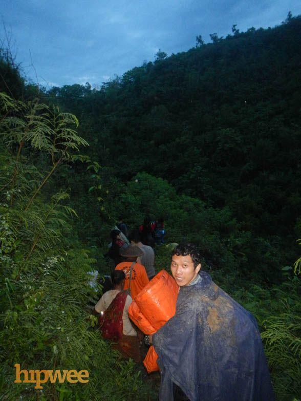 Berasa Hattori: mendaki gunung lewati lembah.