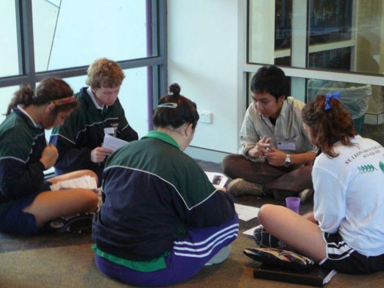 Banyak mahasiswa asing belajar bahasa Indonesia