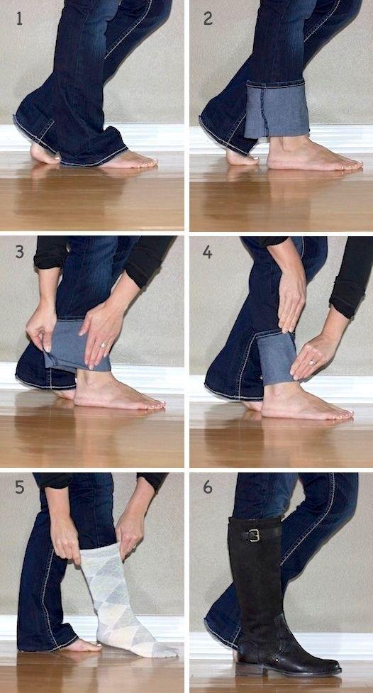 Cara yang tepat buat pake sepatu boot