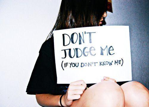 Jangan menilai orang lain dari sudut pandangmu