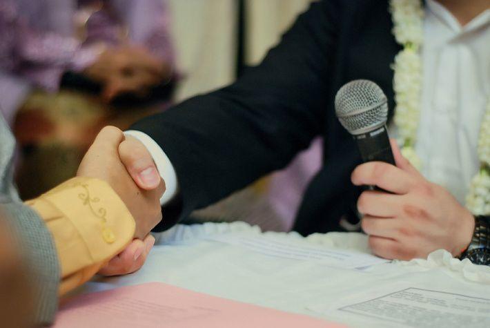 Latihan ijab qabul dengan calon mertua, biar nggak gugup