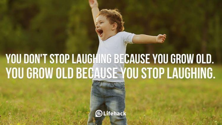 Tertawa akan membuatmu awet muda