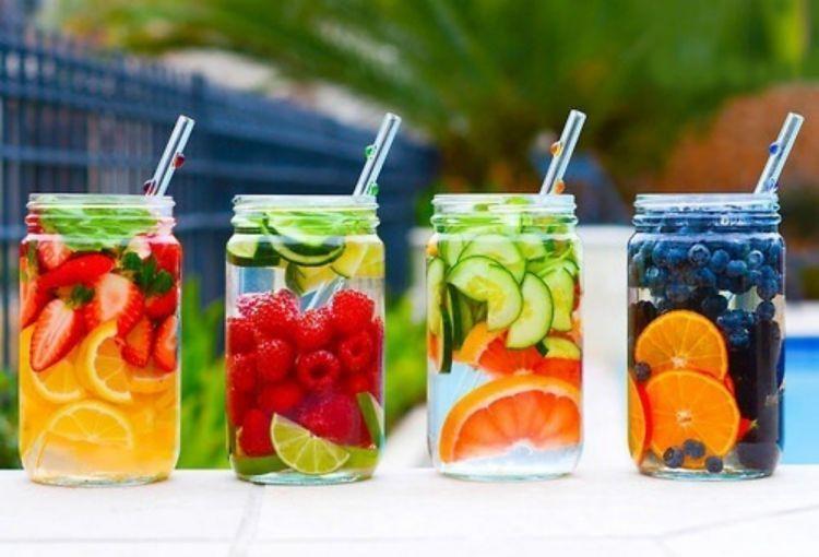 Infused water dengan buah