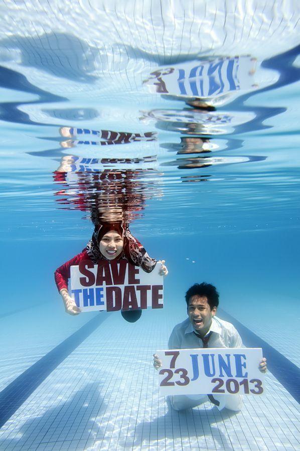Underwater prewedding
