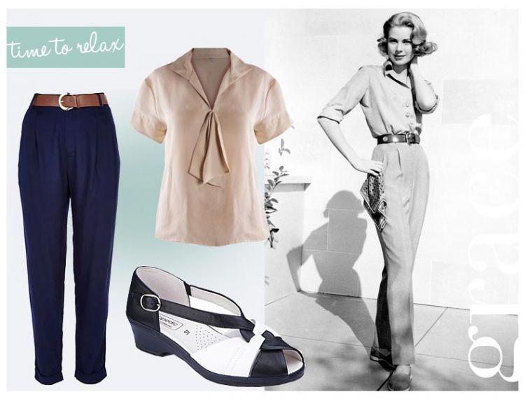 Gaya vintage yang classy a la Grace Kelly