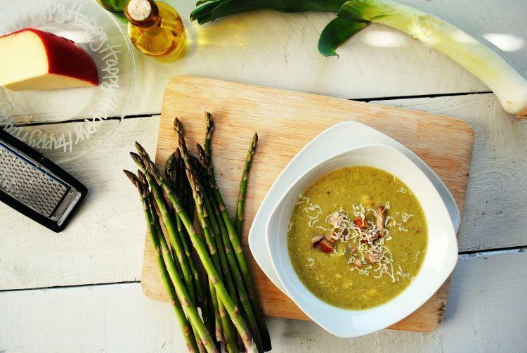 Resep asparagus sup cream buat pengantin baru