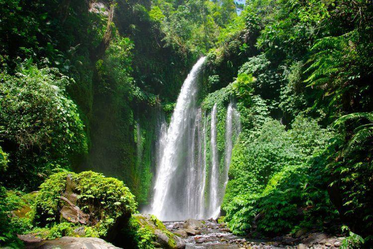 Air Terjun Sendang Gile di Lombok