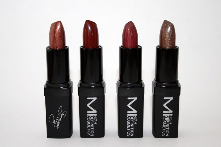 Brown copper lipsticks