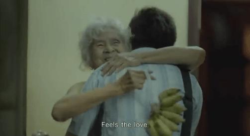 Nenek itu sangat menyayanginya