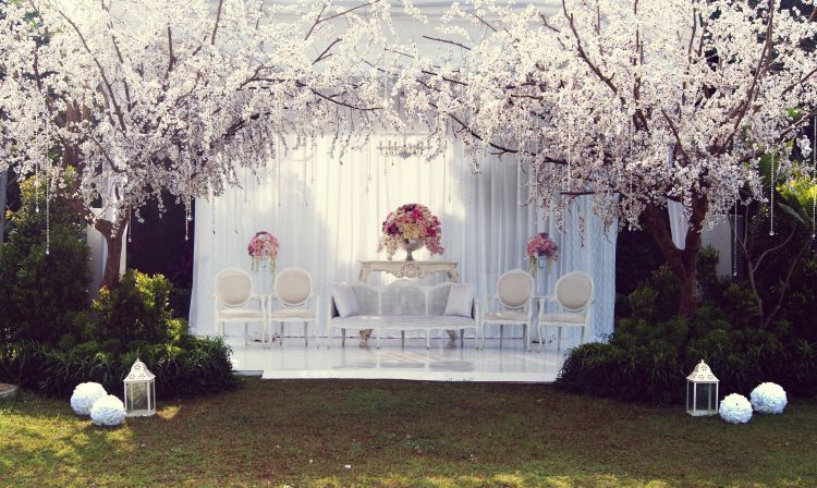 Cheery blossom wedding