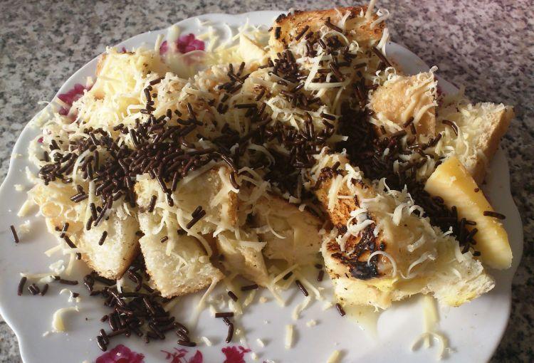 Roti cokelat keju