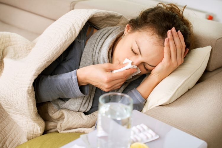 Kamu berserah diri pada flu