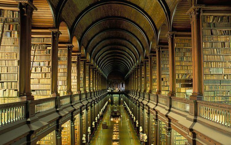 Trinity College Dublin Library, Irlandia