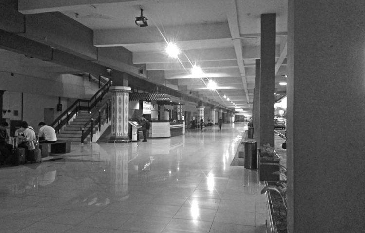 Salah satu sudut bandara Halim