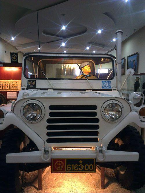 Mobil yang digunakan saat tugas di PBB