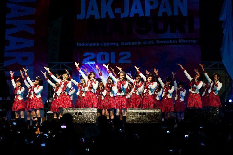 Penampilan JKT48 di Jepang