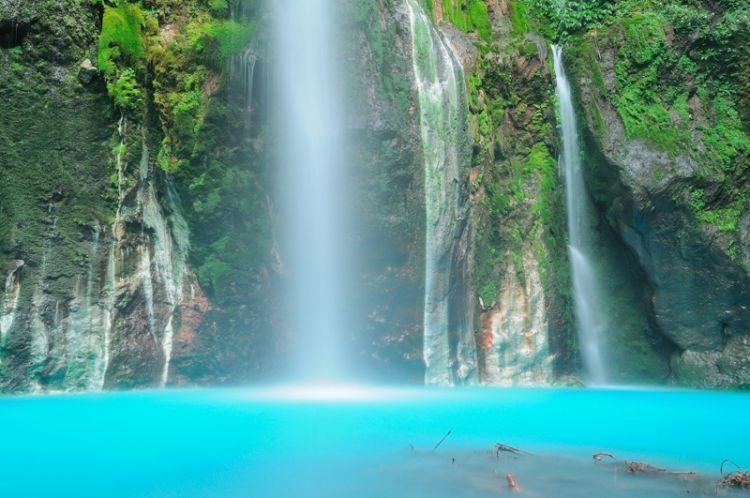 Air Terjun Sibolangit dengan 2 warnanya yang cantik