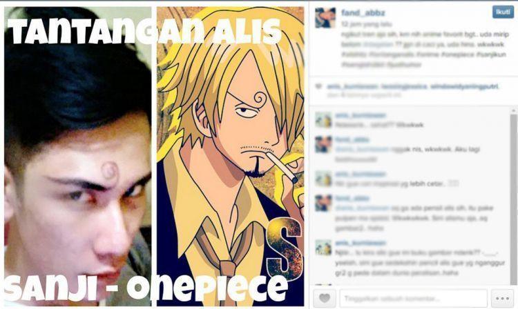 mirip tokoh anime