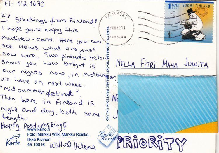 Oleh-oleh kartu pos