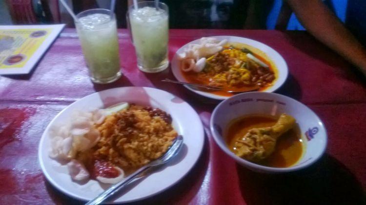 Nasi goreng dan mie Aceh Chie Rasa yang nikmat di lidah dan kantong.