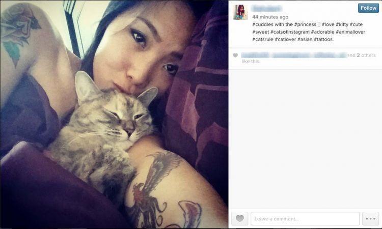 Kucing dalam dekapan sang animal lovers