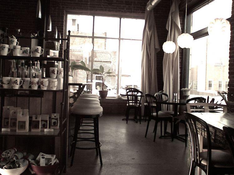 Vintage cozy cafe