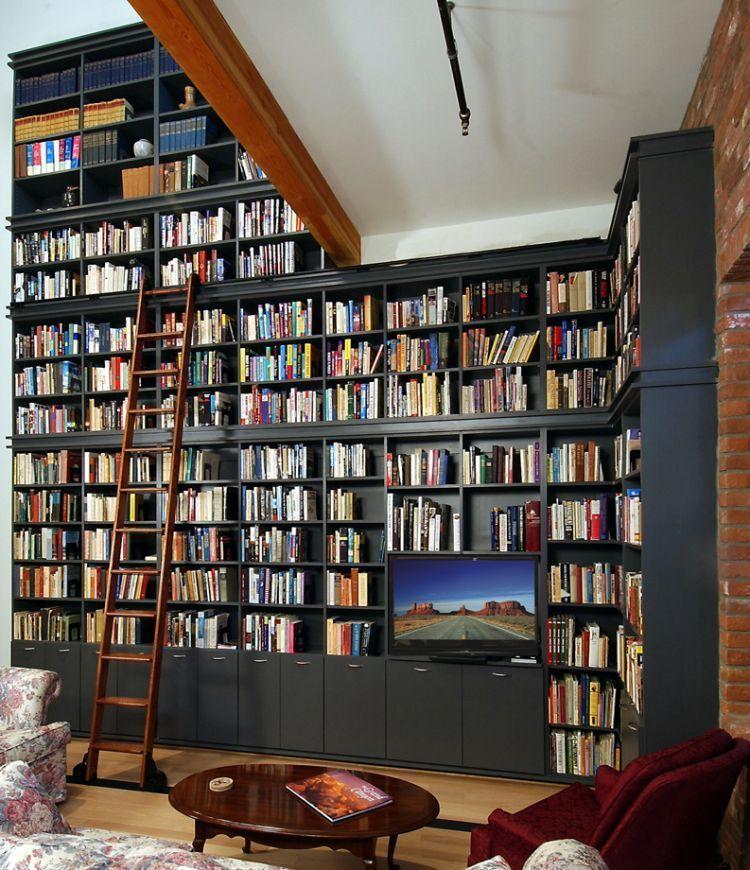 Perpustakaan unik di rumah