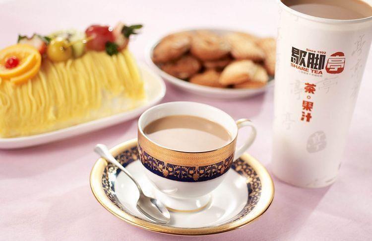 Minuman teh dan susu yang merilekskan tubuhmu
