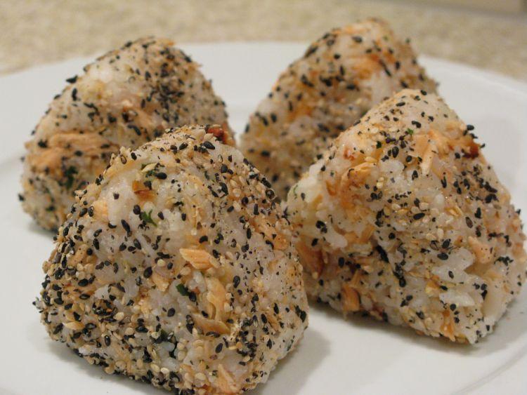 Nasi Jepang yummy untuk bekal perjalanan
