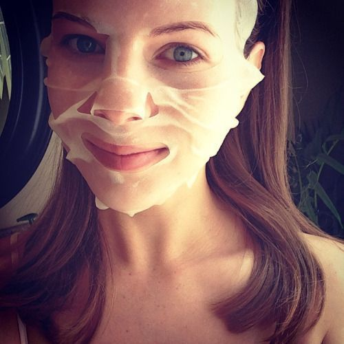 Daripada facial, pakai masker plasenta saja