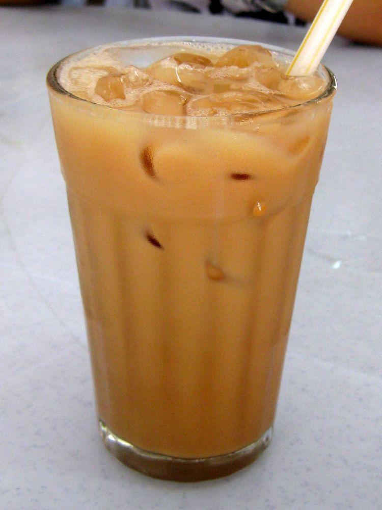 Yum! Honey milk tea