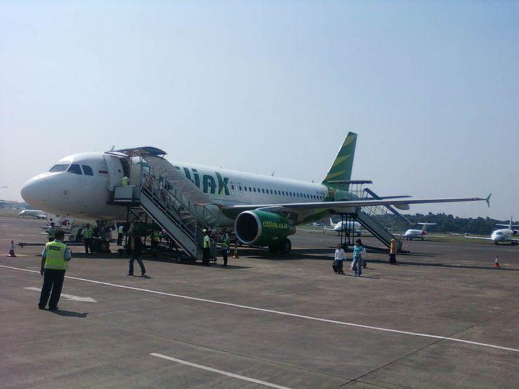 Boarding ke pesawat