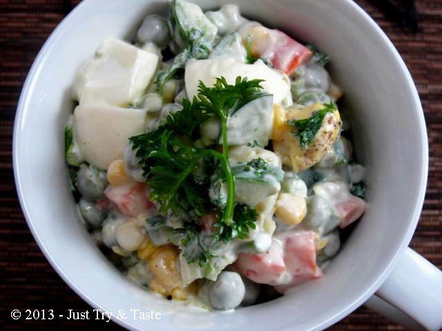 Resep rusian salad buat pengantin baru