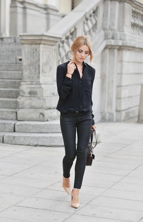 hitam dan elegan